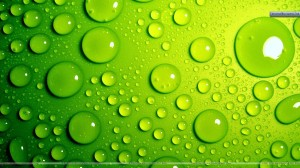 Green-Bubbles-Awesome-Background