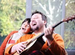 father-son-guitar